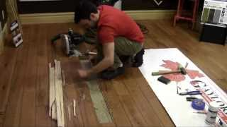 getlinkyoutube.com-Replacing a Hardwood Flooring Board