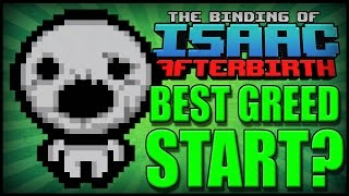 getlinkyoutube.com-Best Greed Start? - Afterbirth Greed Mode [48]