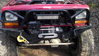 getlinkyoutube.com-Dirtbound Offroad Extreme Winch Front Bumper- Review