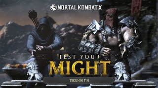 getlinkyoutube.com-Mortal Kombat X: Test Your Might [Father Vs. Son] Gameplay, Commentary
