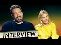 LIVE BY NIGHT - Interview mit Ben Affleck & Sienna Miller + Trailer Deutsch German (HD) |