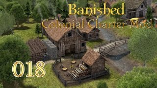 BANISHED ► #018 - Zurück belebte Stadt ► Let's Play Banished Colonial Charter Mod German