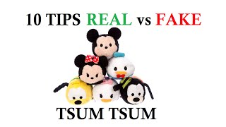 getlinkyoutube.com-10 Tips REAL vs FAKE Tsum Tsums