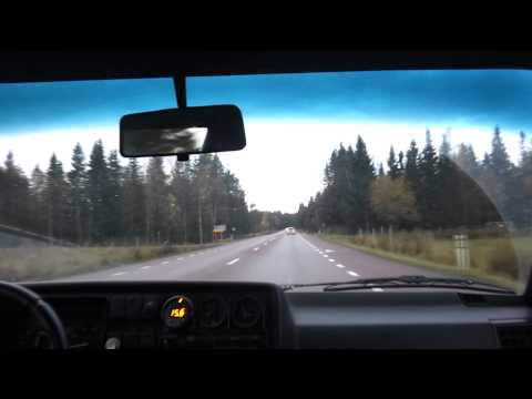 Mk2 vr6 turbo driving to work.