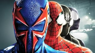 Spider Man: Shattered Dimensions All Cutscenes (Game Movie) PC 1080p HD