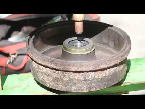Как установить датчик-магнитное кольцо для ABS в Opel Corsa