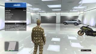 GTA V Online - How To Register As A VIP Or Become A Bodyguard (How To Be VIP)