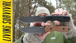 Schrade Frontier SCHF42 vs. SCHF42D Side-By-Side