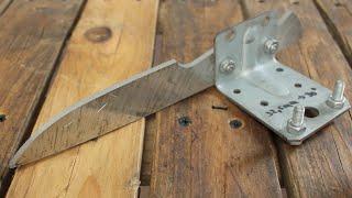 getlinkyoutube.com-Homemade Knife Grinding Jig