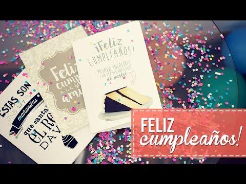 Tarjetas de cumpleaños para todos!