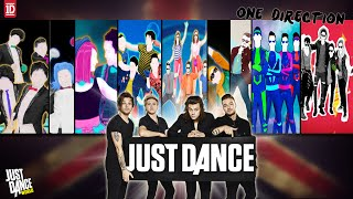 getlinkyoutube.com-Just Dance | One Direction | JD4 - JD2016 | History In Just Dance