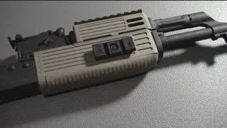 getlinkyoutube.com-How to install the TAPCO intrafuse handguard on an AK47