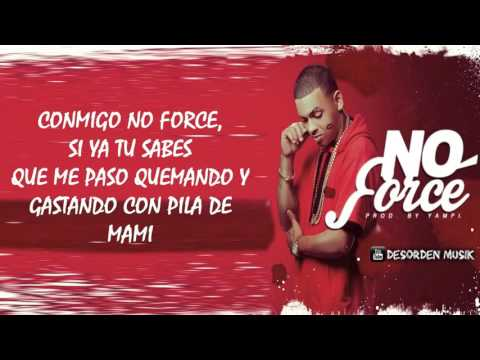 No Force de Ozuna Letra y Video