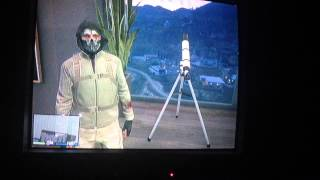 getlinkyoutube.com-GTA V Hat/Helmet, mask, and glasses, telescope glitch