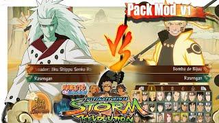 getlinkyoutube.com-Naruto Storm Revolution - MOD PACK V1 (Select)