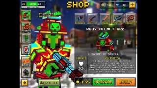 getlinkyoutube.com-Pixel Gun 3D: FULL RUBY ARMOUR