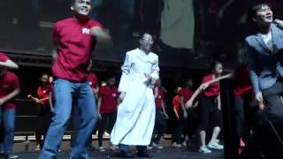 getlinkyoutube.com-The Dancing Priest - Catholic Youths and Seminarians