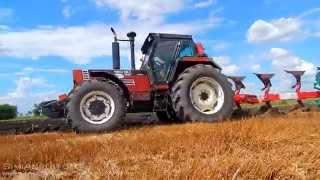 getlinkyoutube.com-New Holland Fiatagri 180/90 + Kverneland LD100/200