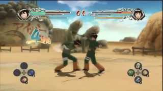 Naruto Ninja Storm Generations - Lee (young) VS Lee