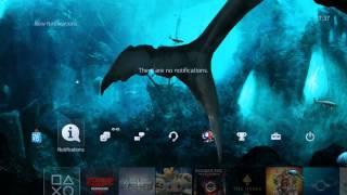 getlinkyoutube.com-PS4 Dynamic Theme: 3D Poseidon's Aquarium