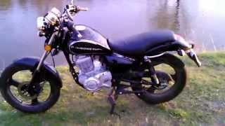 getlinkyoutube.com-Romet Soft Chopper 125  2012r  prezentacja ;)