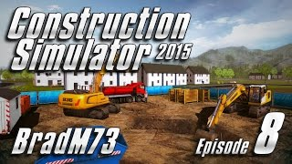 Construction Simulator 2015 - Episode 8 - The Stadium Part 1