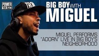 Miguel - Adorn (Live @ Big Boy's Neighborhood)