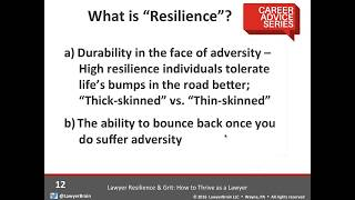 getlinkyoutube.com-Career Advice Series: Lawyer Resilience and Grit: How to Thrive as a Lawyer