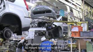 getlinkyoutube.com-The Factory Life: A Behind-the-scenes at Nissan production in Japan