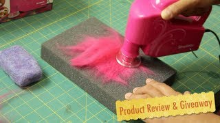 getlinkyoutube.com-Simplicity's Electric Hand Felting Machine- Product Review & Giveaway