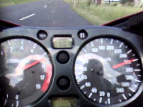 Suzuki Hayabusa speed test 328 km/h