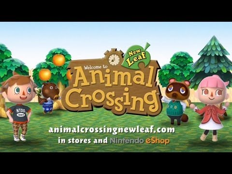 Animal Crossing: New Leaf Tourism Trailer
