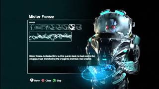 Batman: Arkham City - Audio Tapes: Mr Freeze