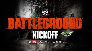 WWE Battleground Kickoff (Inglés)