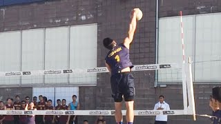getlinkyoutube.com-Connex A Hitting Lines - 2015 Finals 9 Man Volleyball