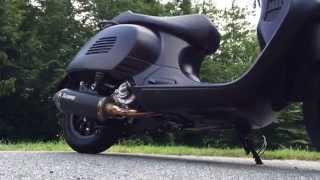 getlinkyoutube.com-Vespa GTS 300 SuperSport Black & Beauty