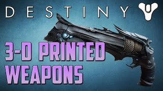 getlinkyoutube.com-Destiny 3D Printed Weapons! Real-Life Thorn and FWC Fusion Rifle