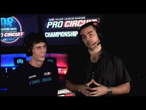 MLG Meadowlands 2008 ♦ Championship Sunday ♦ Walshy Interview - Outro