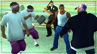 GTA San Andreas Online PS4 - Remastered Nextgen Co-op! (Grand Theft Auto San Andreas)