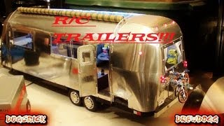 getlinkyoutube.com-UNBELIEVABLE R/C TRAILERS & SHOP!! AIRSTREAM,TEARDROP, TOY HAULER & MORE!!!