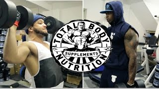 getlinkyoutube.com-FULL UPPER BODY WORK OUT / GIVEAWAY FROM TOTAL BODY NUTRITION