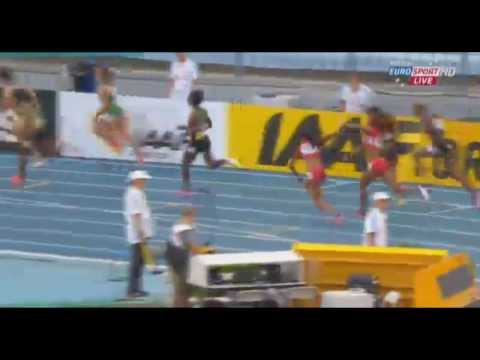 2013 IAAF World Championships women's 4x100m relay FINAL