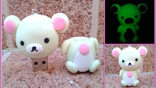 getlinkyoutube.com-korilakkuma USB/ Arcilla Polimerica,/ Polymer clay