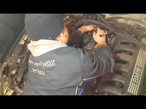 Ремонт двигателей в Волгограде.Замена вала Valvetronic BMW 5 ... N52.Часть 3.
