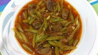 getlinkyoutube.com-طريقة عمل الفاصوليا الخضراء باللحمه Green Beans Stew
