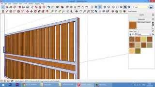 getlinkyoutube.com-Drawing gate.เขียนแบบประตูรั้ว