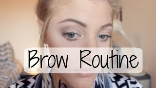 getlinkyoutube.com-Blonde Brow Routine | Anastasia Dipbrow Pomade