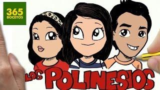 getlinkyoutube.com-COMO DIBUJAR LOS POLINESIOS KAWAII PASO A PASO - Dibujos Kawaii faciles - draw Polinesios