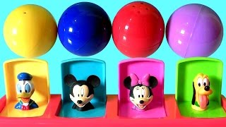 getlinkyoutube.com-Baby Mickey Mouse Clubhouse Pop-Up Pals Toys Surprise Disney Toys Minnie Donald