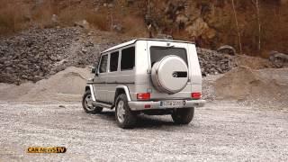 getlinkyoutube.com-Land Rover Defender, Mercedes G-Klasse & Toyota Landcruiser - Offroader Vergleich